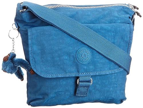 Kipling K15154 K15154527 - Cartera de mano para mujer, color azul, talla 9x25x28 cm: Amazon.es: Equipaje