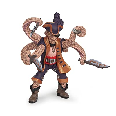 Papo Octopus Mutant Pirate Toy: Toys & Games