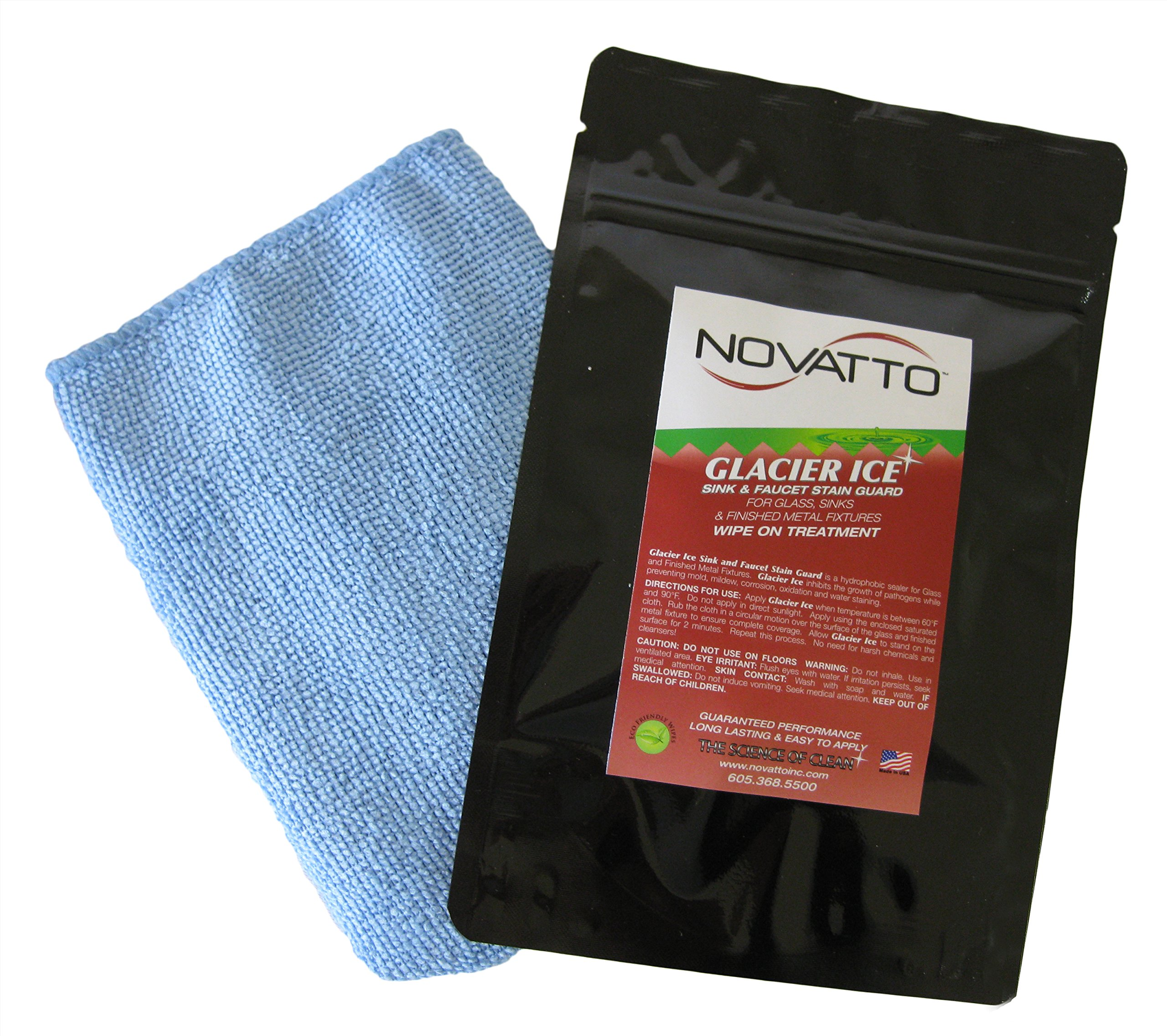 Novatto GLACIER ICE Sink & Faucet Stain Guard and Sealer by Novatto (Image #1)