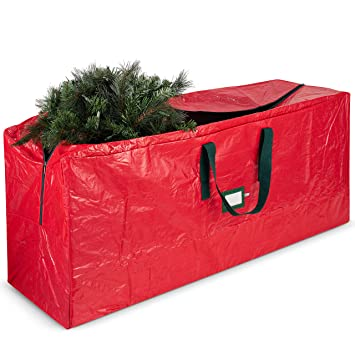 Christmas Tree Storage.Artificial Christmas Tree Storage Bag Fits Up To 7 Foot Holiday Xmas Disassembled Trees With Durable Reinforced Handles Dual Zipper Waterproof