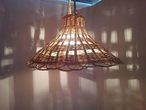 Lampadario marocchino lampada applique lanterna vimini orientale