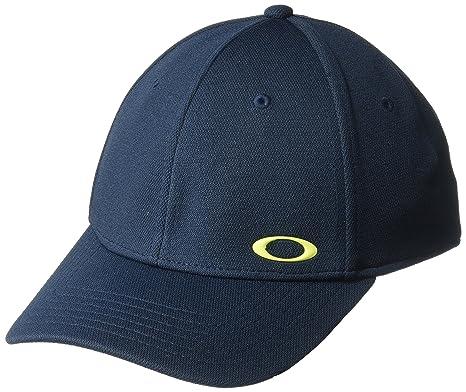 Boné Oakley Tincan Cap Fathom Cor Azul Tamanho  L XL  Amazon.com.br ... ce42b4c0ccf