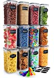 12 pack Food Storage organization set (Black)