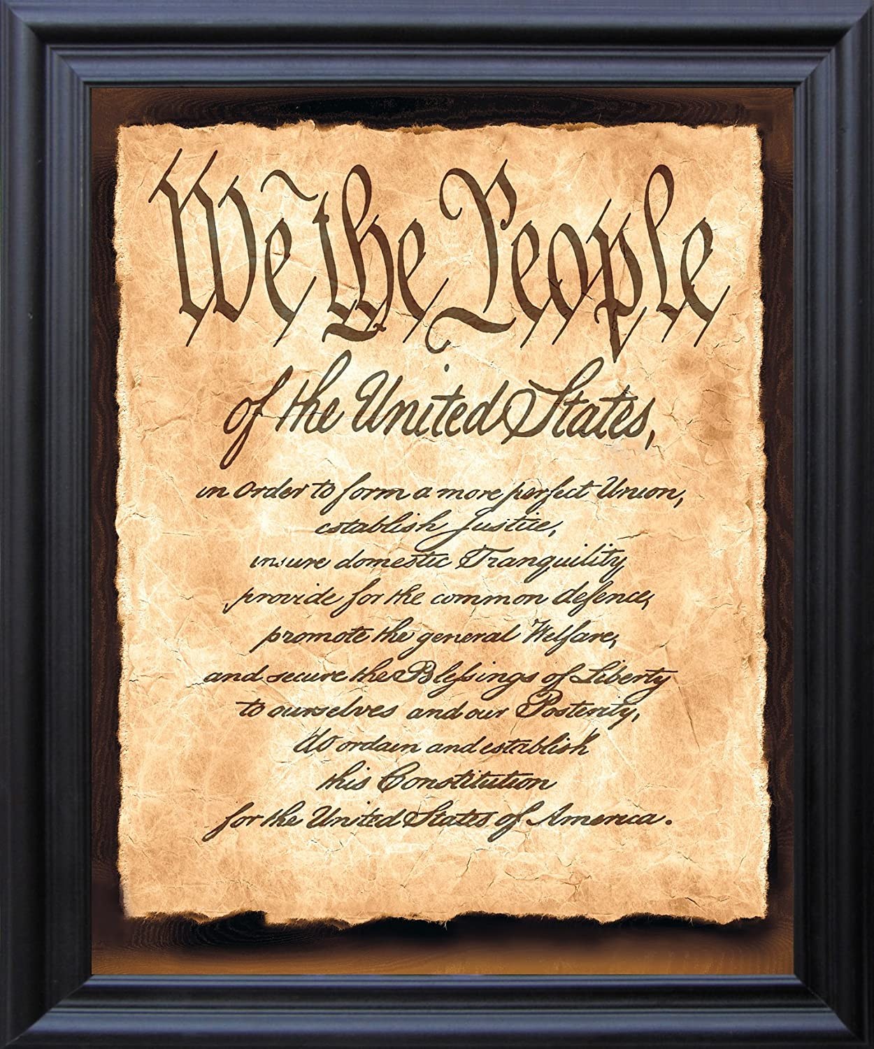 Amazon.com: Impact Posters Gallery Constitution of the United States ...
