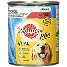 Pedigree Adult Plus Hundefutter Fischöl - Rind in Gelee
