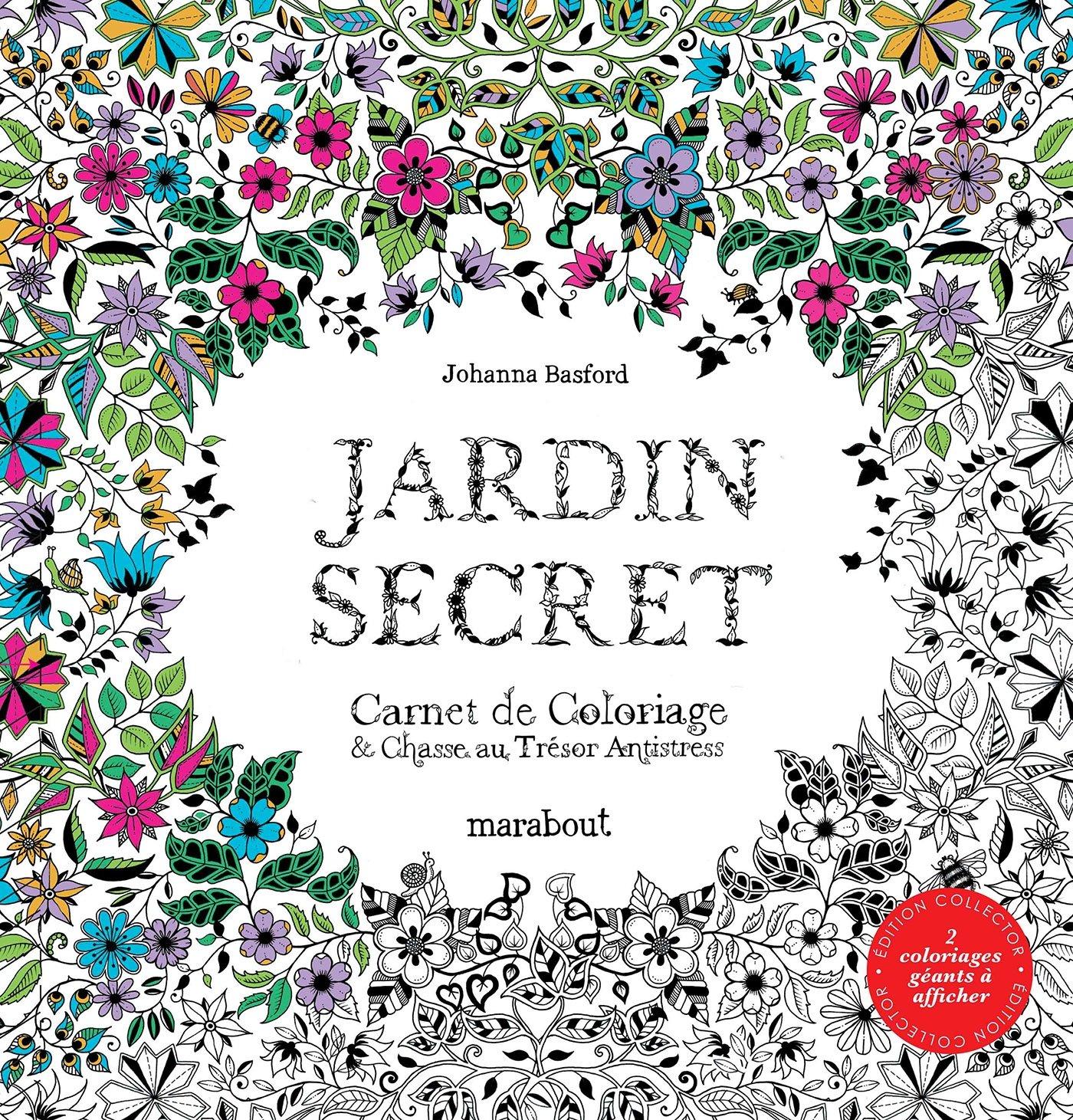 Amazon Jardin secret Edition Collector Johanna Basford