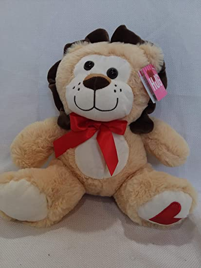 Blue Big Teddy Bear, Amazon Com Hugfun Fluffy Lion Stuffed Animal Plush Doll Large 10 5 In Jungle Safari Valentine S Day Birthday Christmas Just Because Toys Games