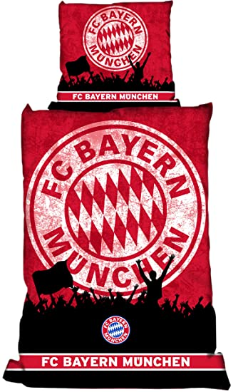 Fcb Fc Bayern München Bettwäsche Linon Fans Mit Rv Amazonde