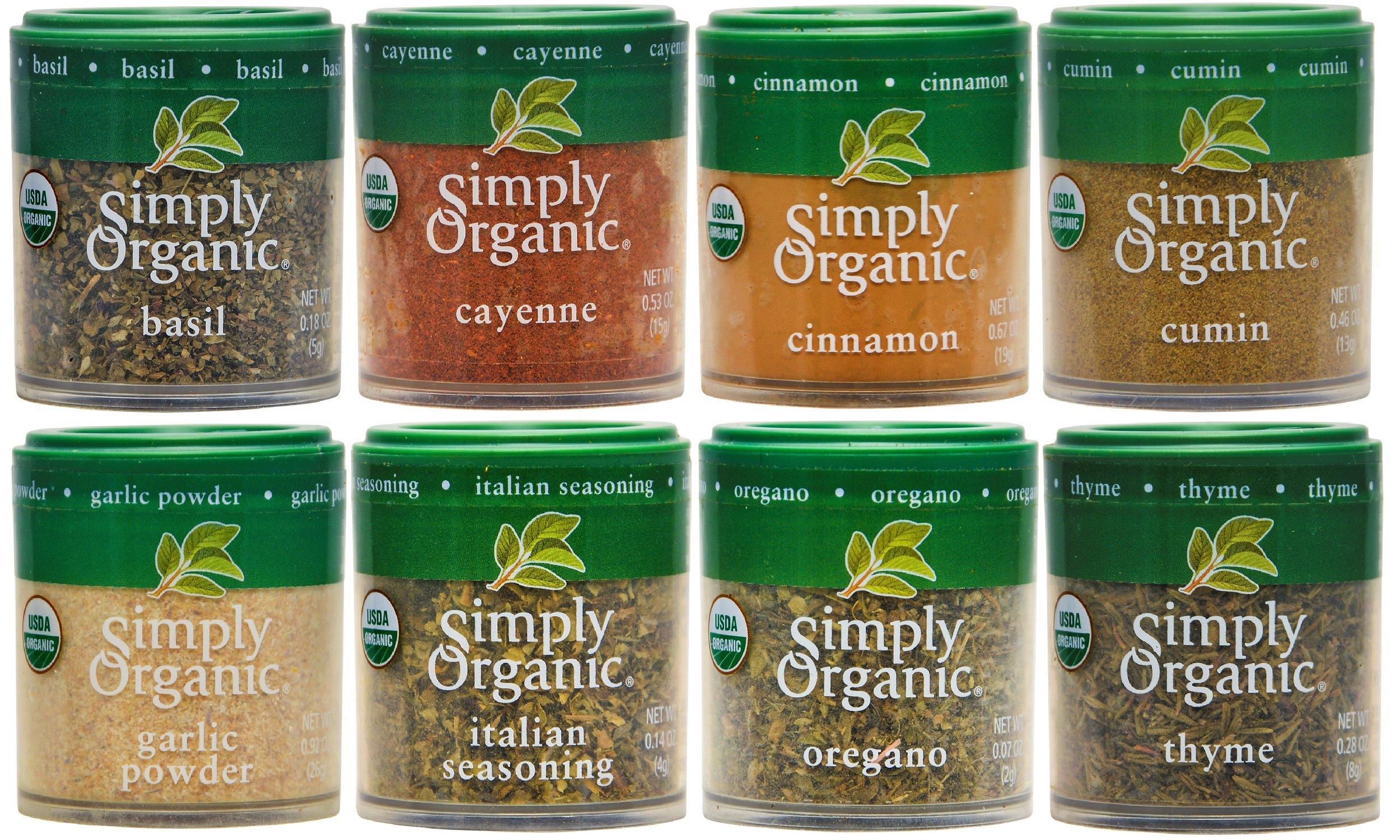 Simply Organic Basics 8 Spices Gift Set 91i8tefScPL