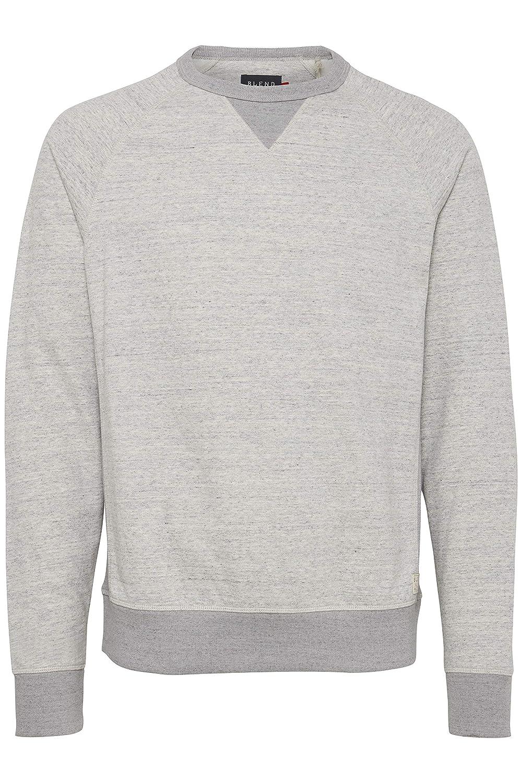 Blend Men's Long Sleeve Printed Pullover Crewneck Sweatshirt 20706979
