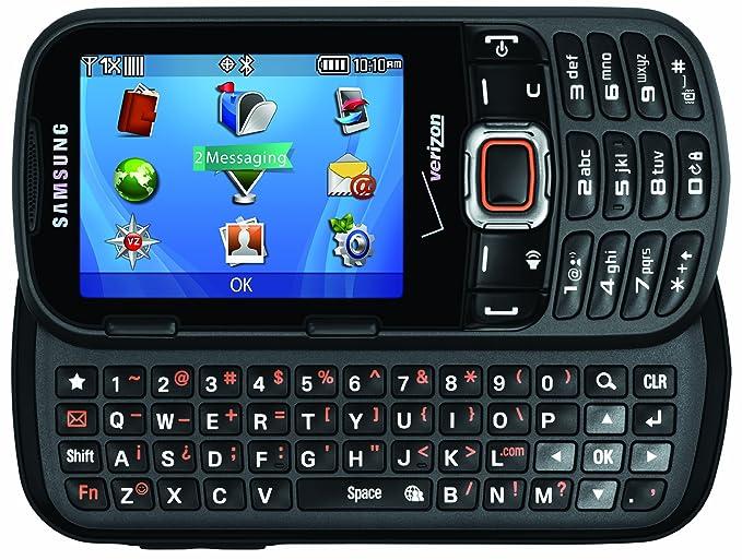 amazon com samsung intensity iii black verizon wireless cell rh amazon com Samsung Razor Cell Phone Samsung Phones with Slide Out Keyboard