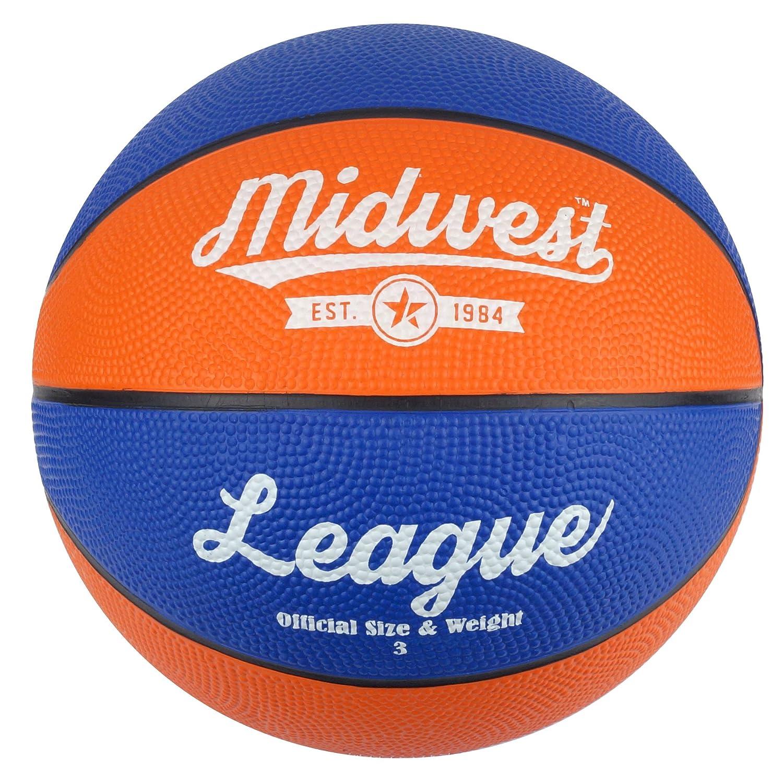 Midwest niños de la Liga de Baloncesto, Color Azul y Naranja ...