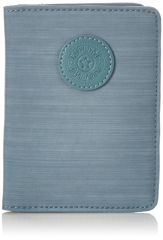 Kipling PASS PORT Portefeuille passeport, 14 cm, 0.01 liters, Bleu (Dazz Soft Aloe) K1562184F
