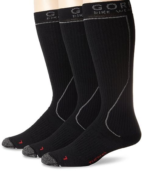 Gore Bike Wear MTB Termo - Calcetines de ciclismo para hombre, color negro, talla