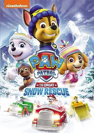 paw patrol snow dog
