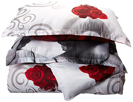 FADFAY Home Textile,Marilyn Monroe Comforter Set Queen Size,Sexy Roses Marilyn  Monroe Bedding