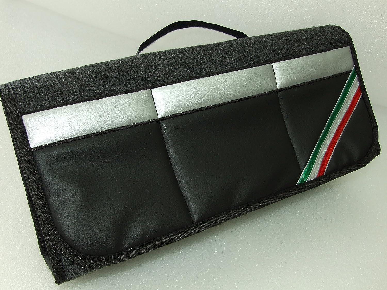Originale Onekool bandiera Italia organizer per bagagliaio per auto adatto a tutti i modelli