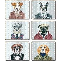 Cinnamon CMC371 Dogs Dinner Drink Coasters