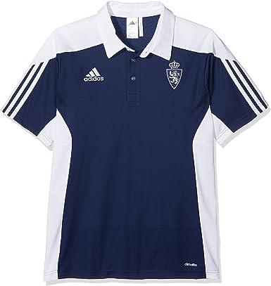 adidas Mt14 TRG Camiseta Polo Real Zaragoza FC de Tenis, Hombre ...