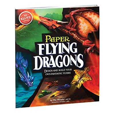 Klutz Paper Flying Dragons Craft Kit: The Editors of Klutz: Toys & Games