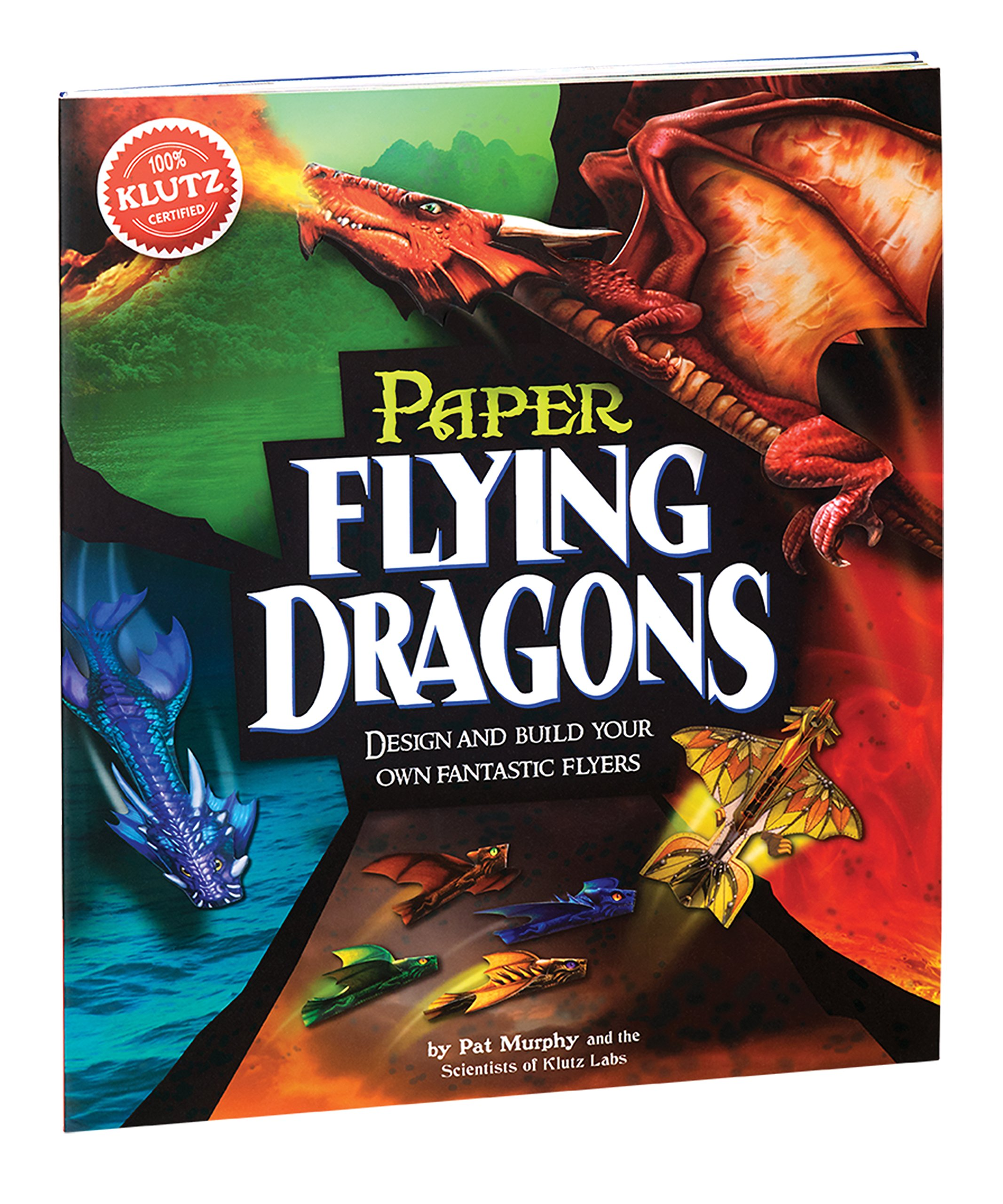 Klutz Paper Flying Dragons Craft Kit by Klutz