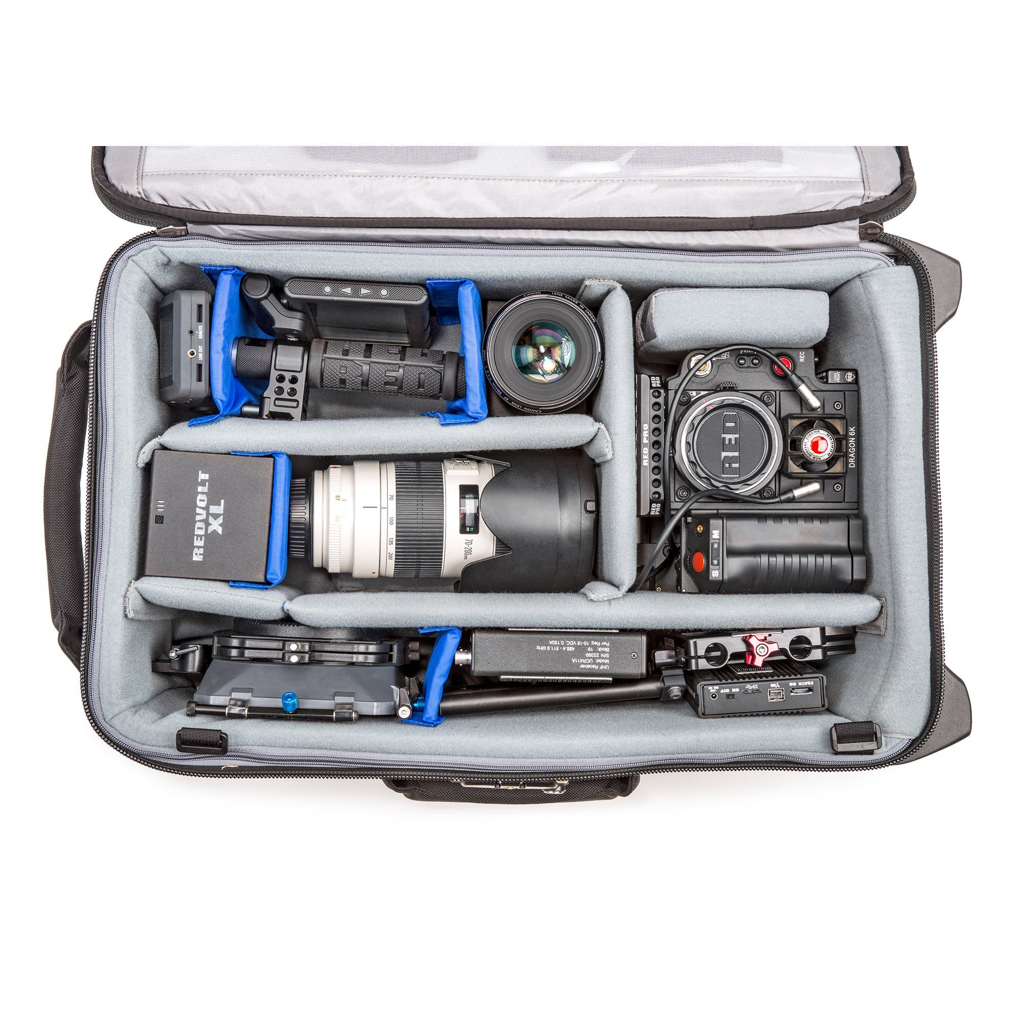 Think Tank Photo Video Transport 20 Carry-On Case (Pacific Slate) by Think Tank (Image #5)