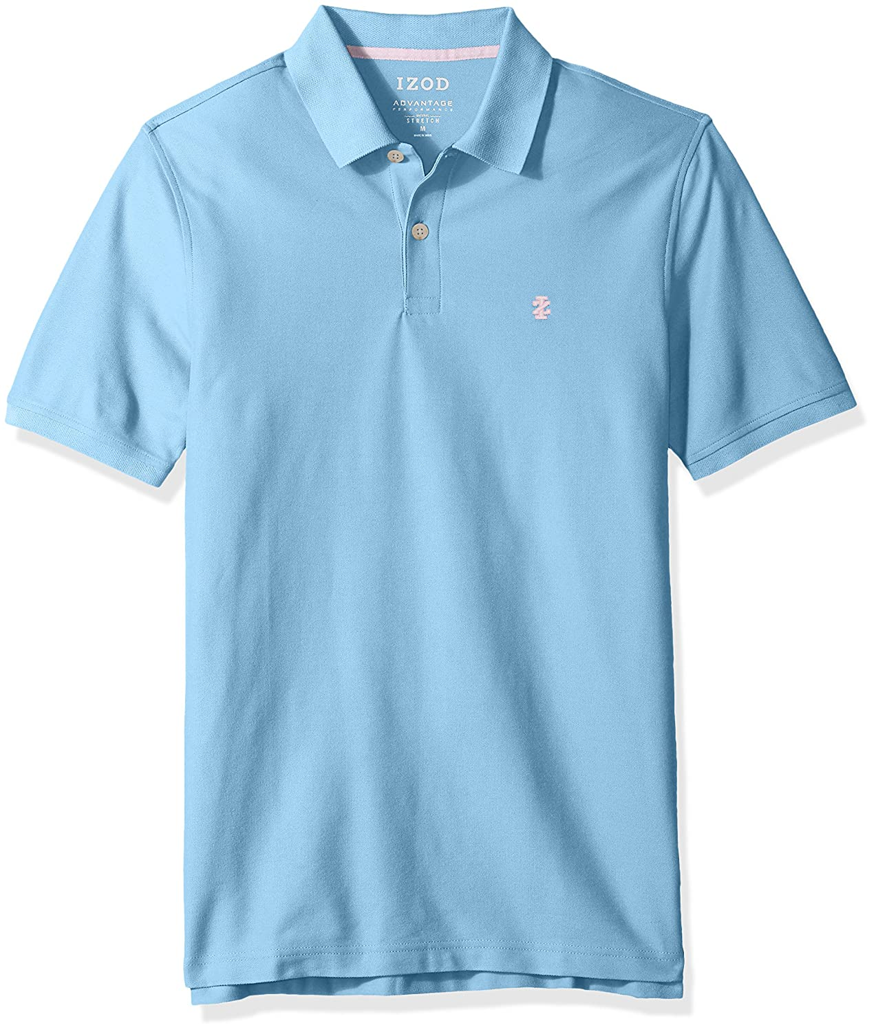 Izod Men's Short Sleeve Advantage Solid Pique Polo 45SK350