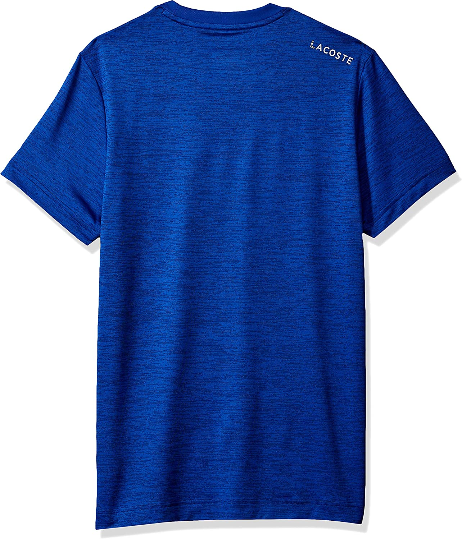 Lacoste Mens Sport Djovokic Short Sleeve Technical Heather Jersey T-Shirt