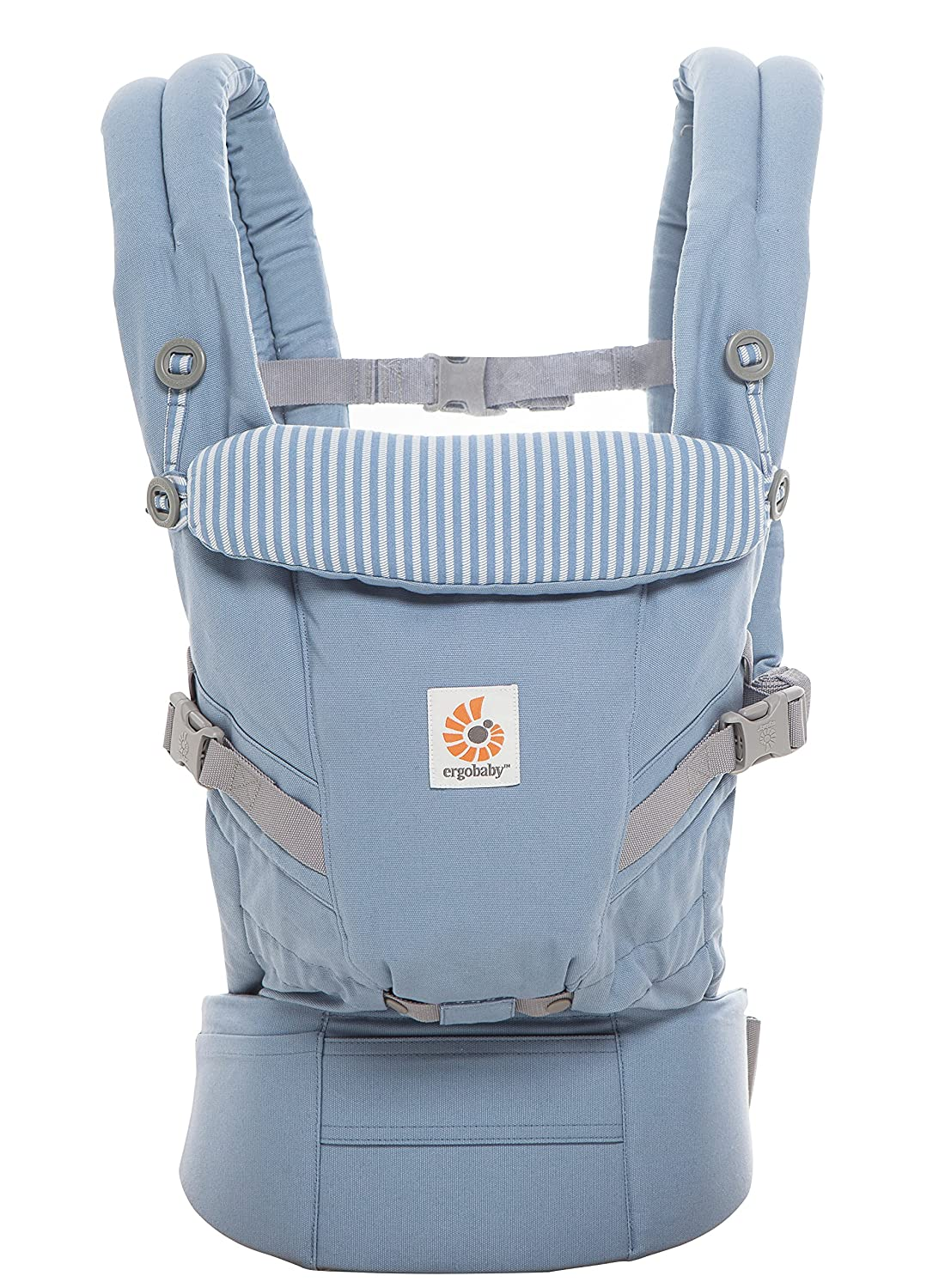 e1aba07e0ba Amazon.com   Ergobaby Adapt 3 Position Baby Carrier (Azure Blue)   Baby