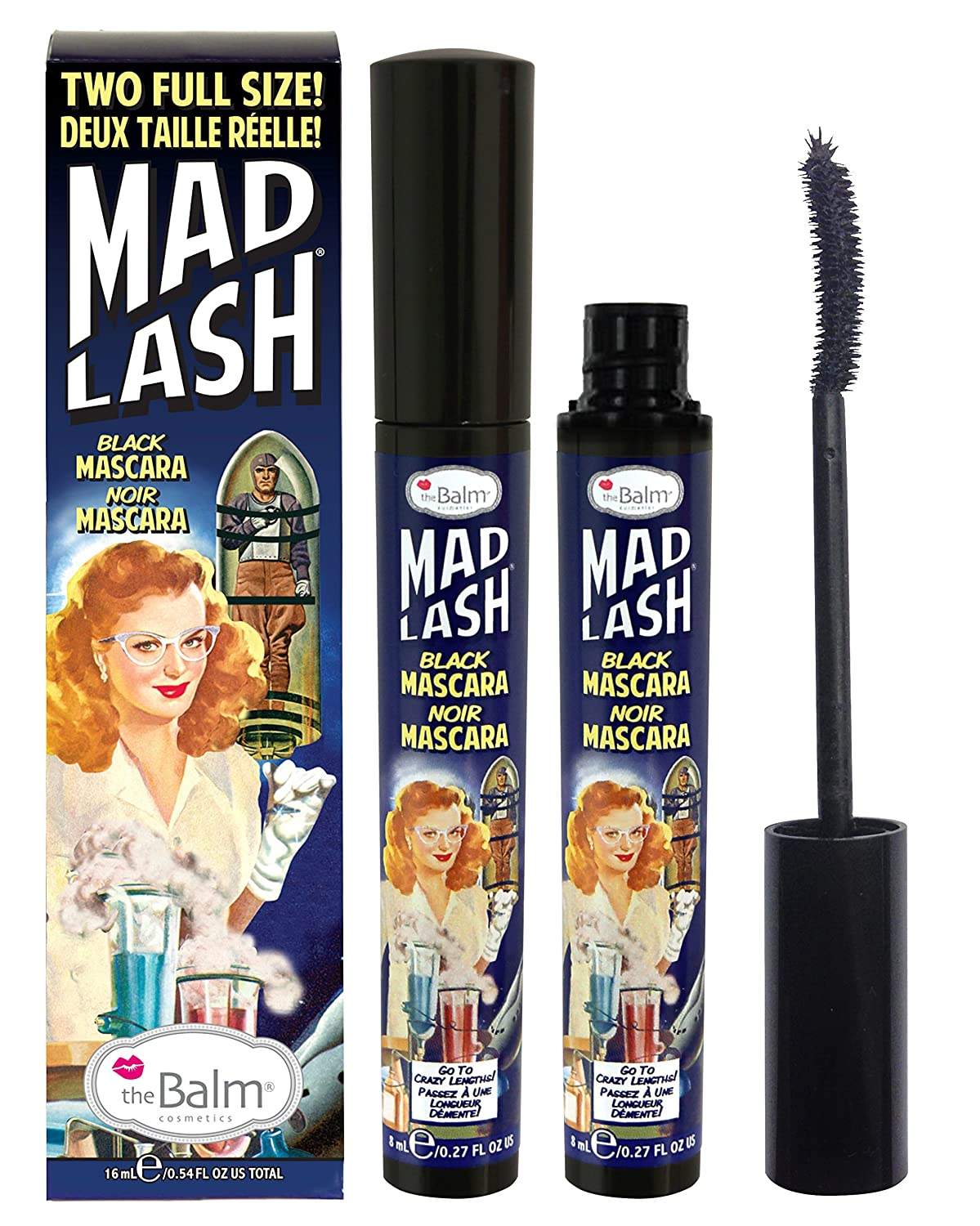 theBalm Mad Lash Full-Size Voluminous Mascara Set