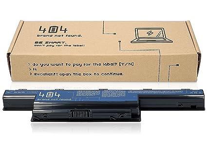 404Brand Batería del ordenador portátil para Packard Bell Easynote LM (10.8V, 4400 mAh