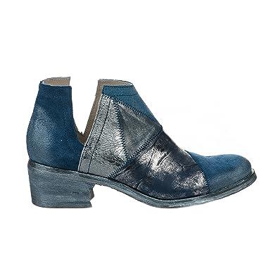 f96af2db34d20 Khrio Boots Femme Bleu - 7511 - Millim  Amazon.fr  Chaussures et Sacs