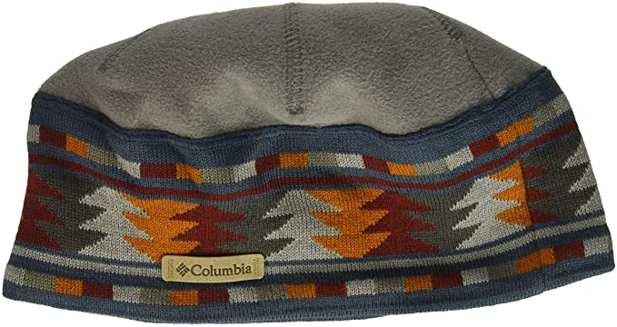 7a9315ed24815b Columbia Men's Alpine Pass Beanie, Boulder MultiGeo O/S at Amazon ...