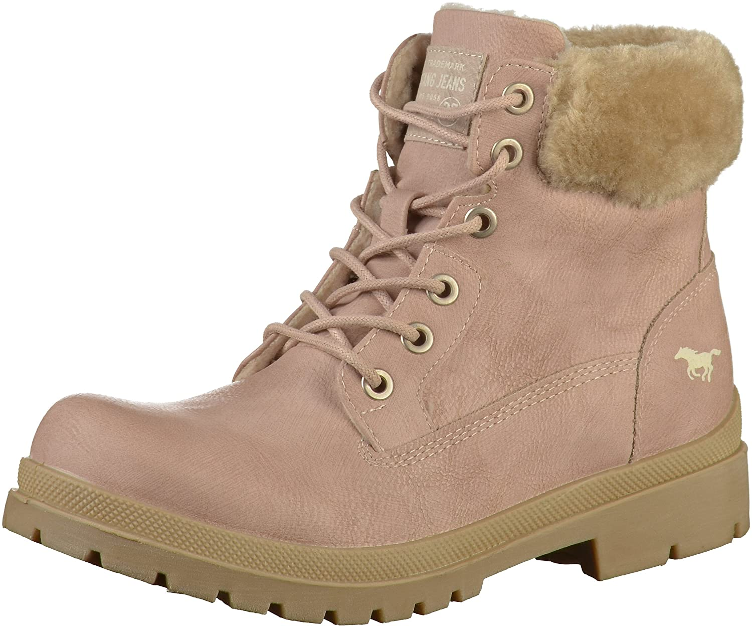 Mustang 1207-607, 1207-607, Bottes Femme, Gris Mustang B078HKY54F Rose 579647c - gis9ma7le.space