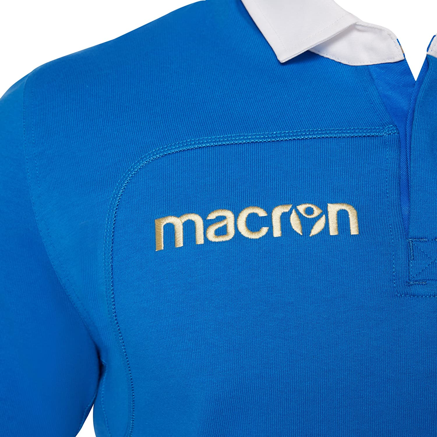 Maillot Domicile Coton Manches Longues Italie Rugby 2017-2018