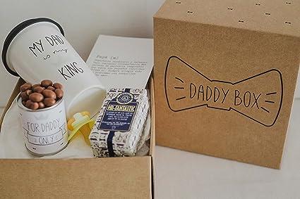 Regalo original bebé y papá / Daddy Box / idea regalos para papá y ...