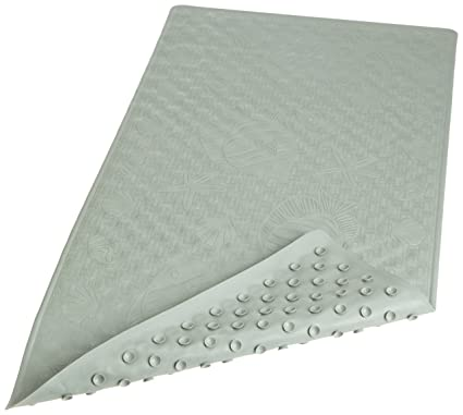 Wonderful Carnation Home Fashions Rubber Bath Tub Mat, Sage