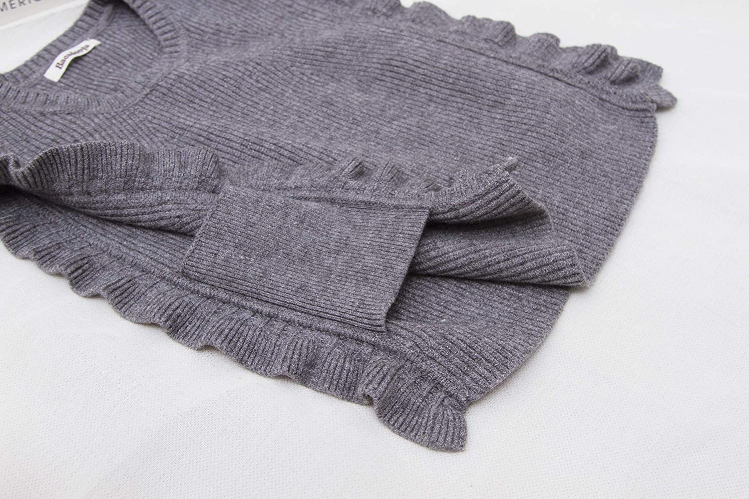 Baosdooya Autumn Knitted Sweater Vast for Children