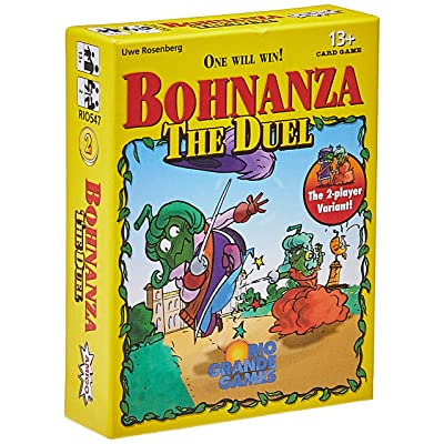 Rio Grande Games Bohnanza Duel Card Game: Toys & Games