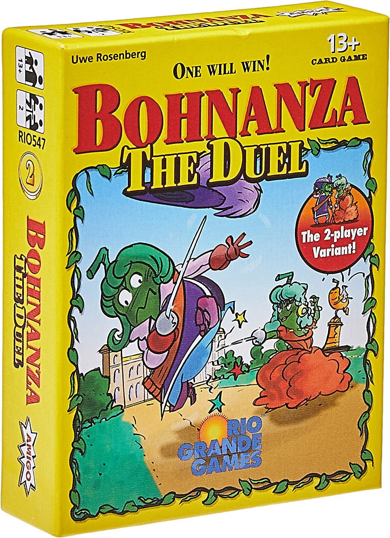 Rio Grande Games RGG547 Bohnanza The Duel Juego de Cartas: Amazon.es: Juguetes y juegos
