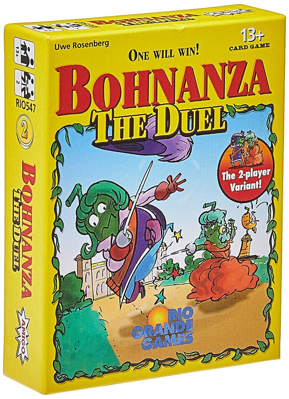 Rio Grande Games rgg547 Juego de Cartas Bohnanza el Duelo: Amazon ...