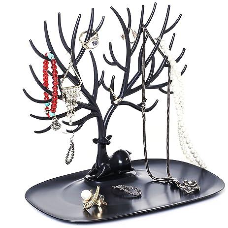 Amazoncom Decorative Deer Antler Tree Design Bracelet Necklace