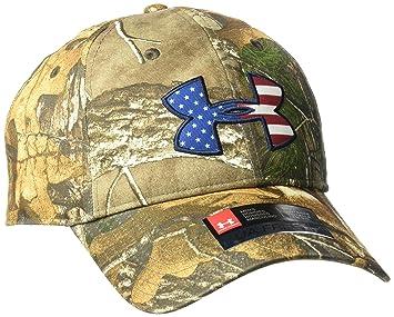 361bbcd0abf Under Armour Men s Camo Big Flag Logo Cap