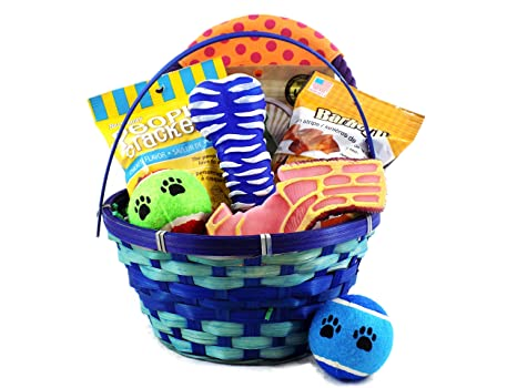 Pet supplies dogs love easter too dog toy and treat easter dogs love easter too dog toy and treat easter basket negle Image collections