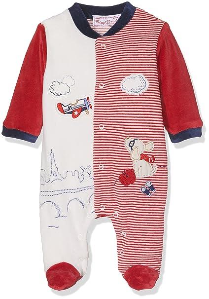 Mayoral 2725 Pijama Combinado, Bebés, Red, 0M