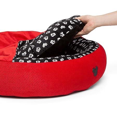 Amazon.com: Disney Mickey Mouse Cozy Cuddler in Mickey Bobble, Red, Medium, 27