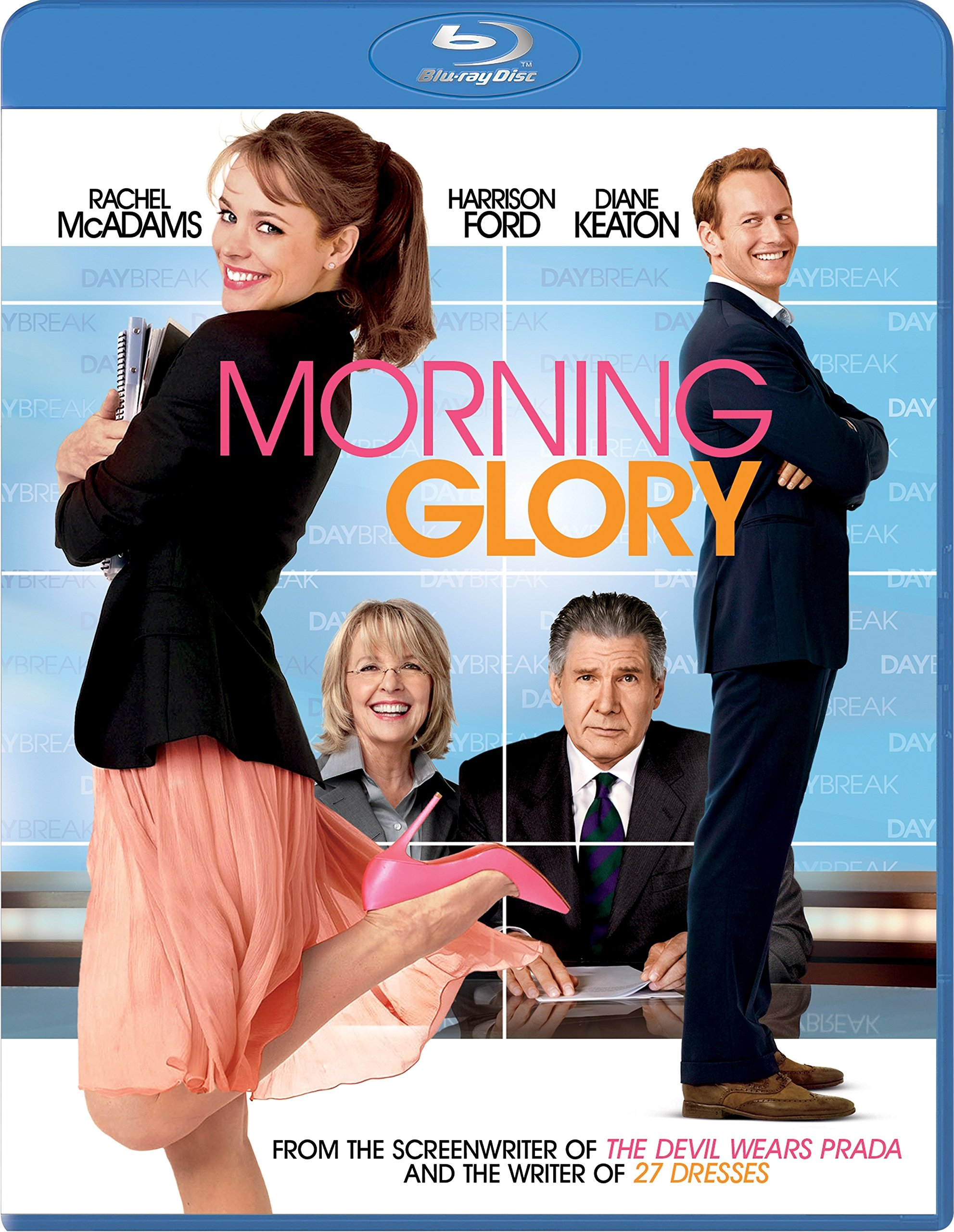 Blu-ray : Morning Glory (Widescreen, Dolby, AC-3, Digital Theater System, )
