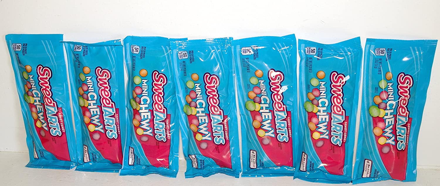 Amazon com : Sweetarts Mini Chewy Tangy Candy - 7 (1 8 oz ) Packages