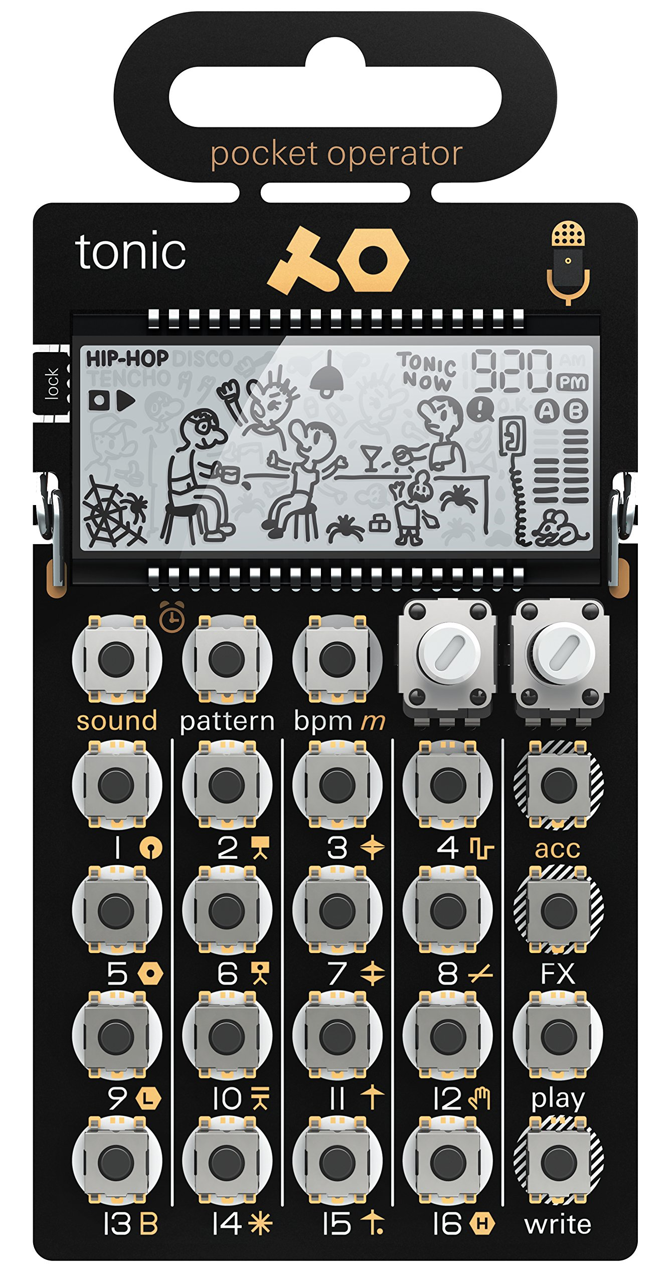 Teenage Engineering Pocket Operator PO-32 tonic【Japan Domestic genuine products】 【Ships from JAPAN】