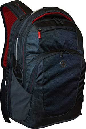 WENGER TRACER Backpack, 15 Laptop – GREY 18 X 13 X 7